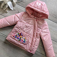 Курточка дитяча Wellajur kids (рожевий) 80 см