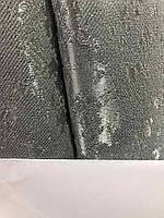 Тканина мармурова на метраж однотонна темно-сіра, висота 2.8 м на метраж (M19-21), фото 4