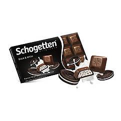Молочний шоколад Schogetten Black & White, 100г