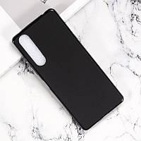 Чехол Fiji Line для Sony Xperia 1 II силикон бампер черный