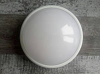Светодиодный влагозащищенный светильник ЛЕД ГЛОБО LC-18Вт/840-14 G2 О D220 WH 33 IP65, Люмен, фото 1