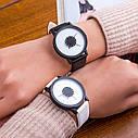 Наручные часы, Полностью черный 1, Унисекс, фото 2