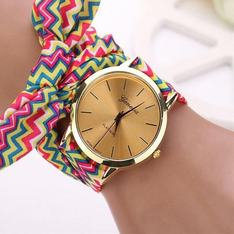 Жіночі наручні годинники Geneva 2, Рожевий 1