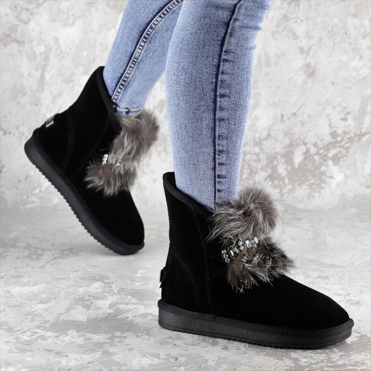 Угги женские Fashion Gabrielle 2277 36 размер 23 см Черный