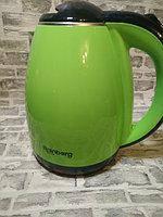 Электрический чайник Rainberg RB-901 с дисковым нагревательным элементом - зеленый