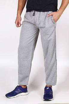 Спортивные штаны тёплые унисекс р.50-52 прямые светло-серые. От 3шт по 75грн.