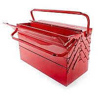 Скринька для інструментів металевий INTERTOOL HT-5047