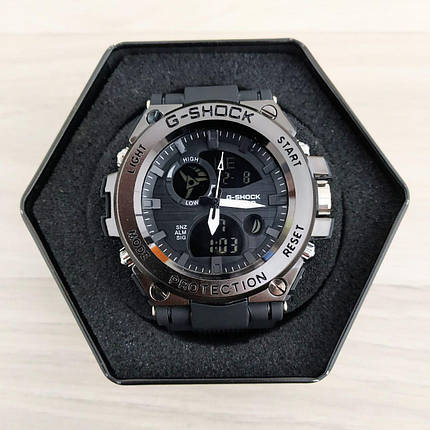 Casio G-Shock GST-700 Black-Silver, фото 2