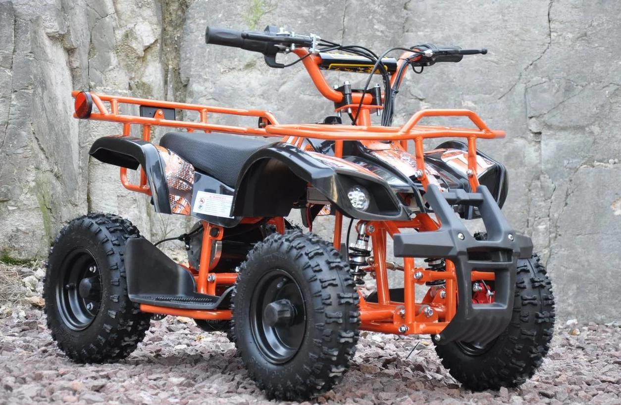 Детский электроквадроцикл с моторами 100W Viper-Crosser EATV 90505 оранжевый