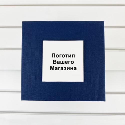Коробочка з логотипом Вашого магазину Blue