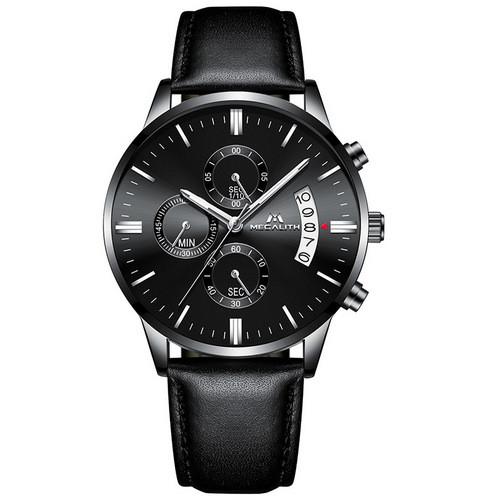 Оригинал! Мужские часы Megalith 8008M All Black