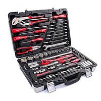 Профессиональный набор инструментов INTERTOOL ET-7078, 78 шт. в прочном кейсе, для ремонта автомобиля