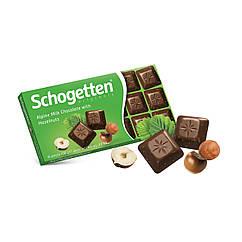 Молочний шоколад Schogetten Alpine Milk with Hazelnuts, 100г