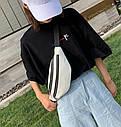 Женская сумка бананка 2, Черная, фото 7