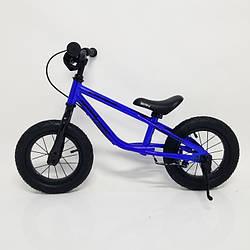 Детский беговел 12 дюймов (BRN)B-2 Blue Air wheels