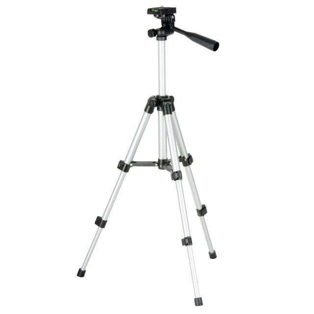 """Штатив для лазерного рівня 280-650 мм, різьблення 1/4"""" INTERTOOL МТ-3049"""