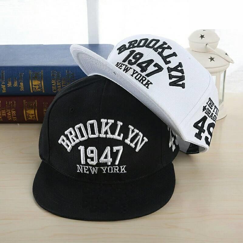 Кепка снепбек Brooklyn с прямым козырьком 2, Унисекс