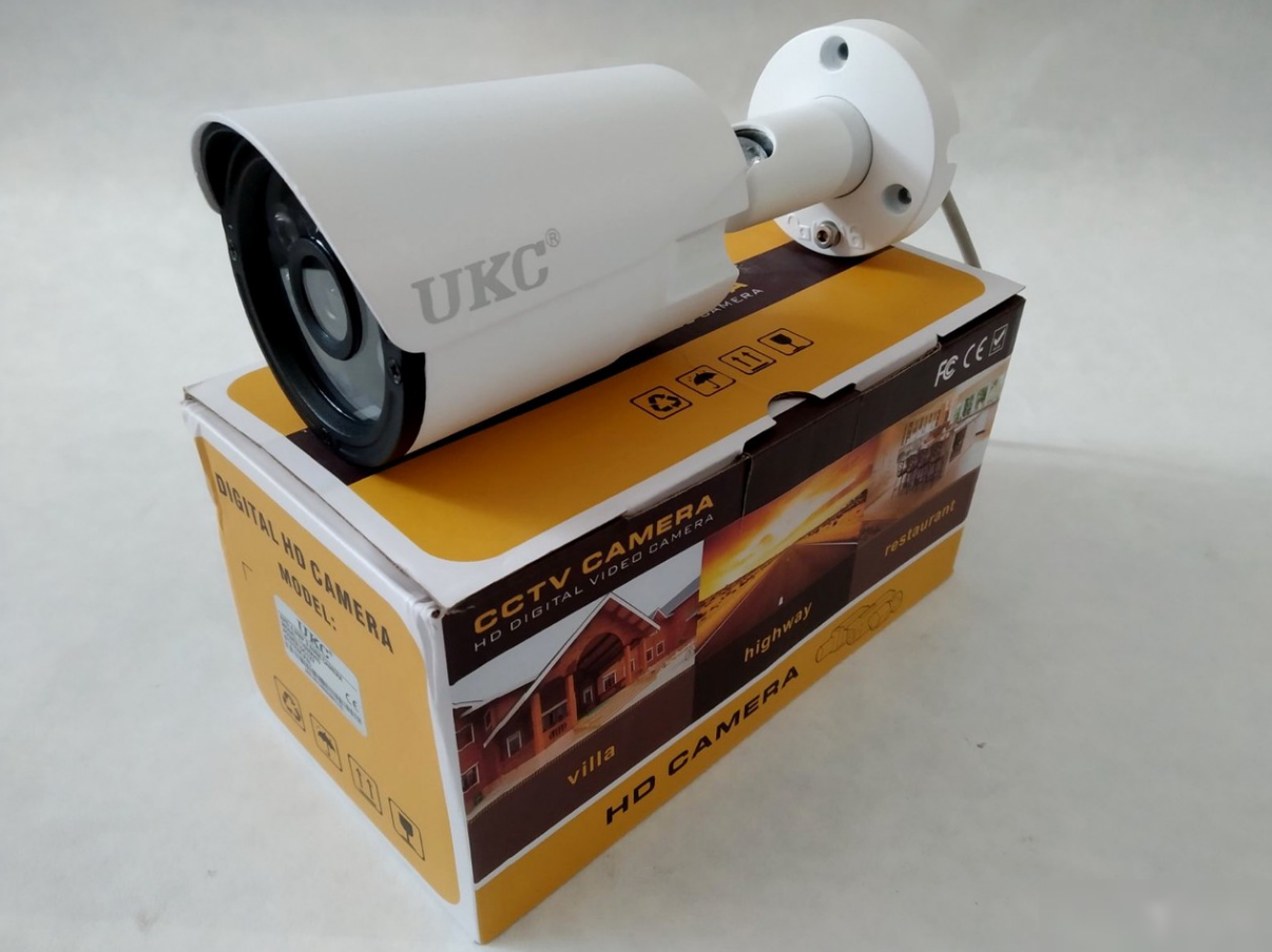 Камера відеоспостереження UKC CAD 115 AHD 4mp 3.6 mm кольорова зовнішня