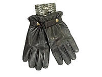 Перчатки кожаные Emporio Armani черные мужские