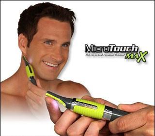 Тример для видалення небажаного волосся Мікро Тач Макс Micro Touch Max