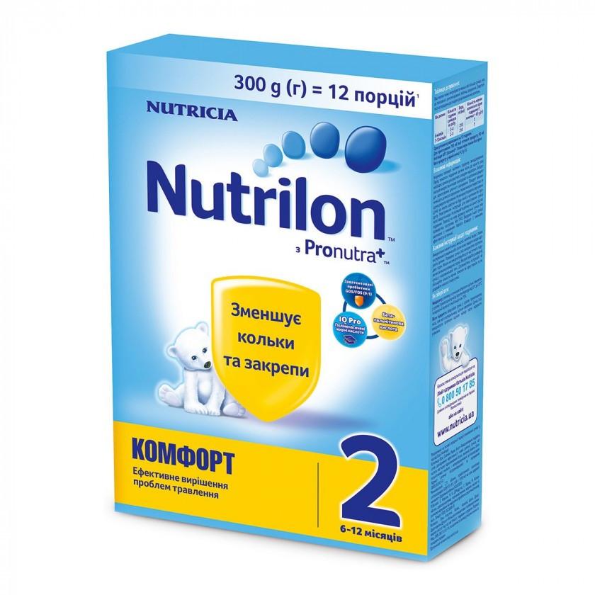 Суміш молочна Nutrilon Комфорт 2, 6+, 300г