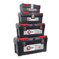 Комплект ящиків для інструментів з металевим замком INTERTOOL BX-0004