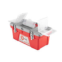 Скринька для інструментів з металевими замками INTERTOOL BX-0516