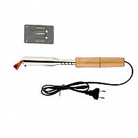 Паяльник електрика з дерев'яна яна яною ручкою Sparta 100 Вт, 220В