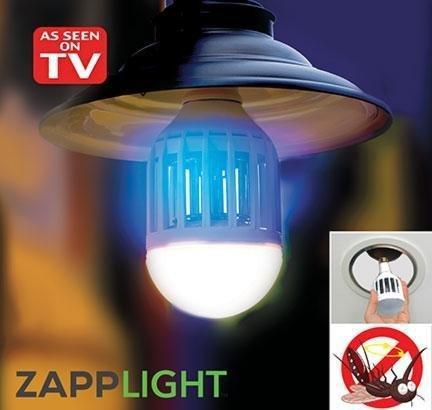 Світлодіодна лампа знищувач комарів зап лаиз ZAPP LIGHT LED LAMP