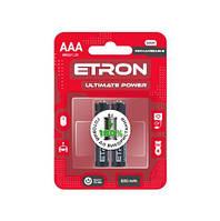 Акумулятор ETRON Ultimate Power AAA 600mAh Ni-Mh Ready 2Use Blister 2 шт
