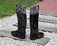 Высокие женские резиновые сапоги, фото 1