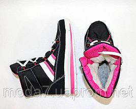 Женские зимние дутики на шнурках 40р №17, фото 3