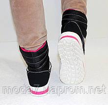 Женские зимние дутики на шнурках 40р №17, фото 2