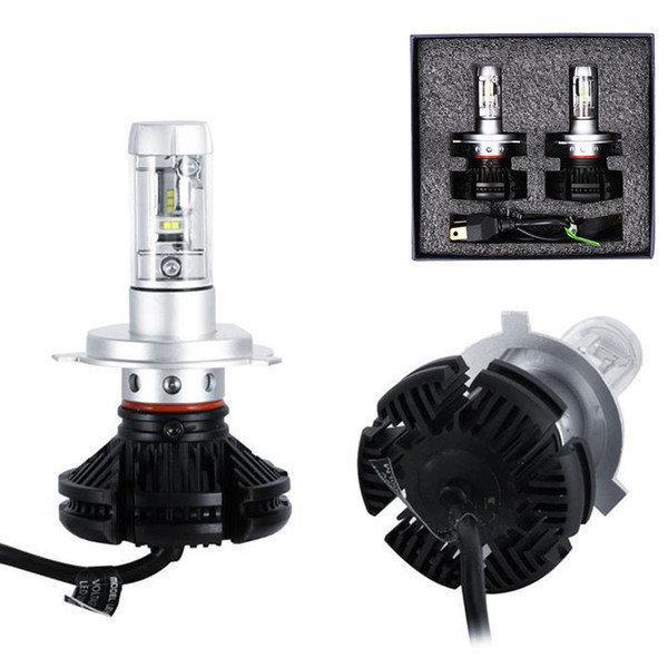 Світлодіодні LED лампи для фар автомобіля X3-H4