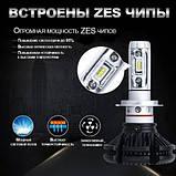 Світлодіодні LED лампи для фар автомобіля X3-H4, фото 2
