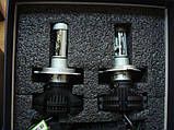 Світлодіодні LED лампи для фар автомобіля X3-H4, фото 3