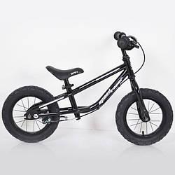 Детский беговел 12 дюймов (BRN)B-2 Black Air wheels