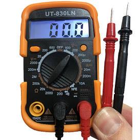 Мультиметр цифровой DT-830 LN Тестер с подсветкой