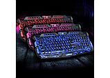 Професійна ігрова радіо клавіатура з підсвічуванням М200, фото 2