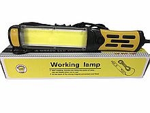 Ліхтарик для СТО з магнітом BL 9096 COB і працює від 220в кабель 9 метрів