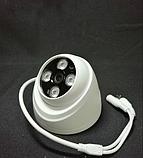Камера відеоспостереження D204 3MP AHD DOME CAMERA / Нічна зйомка+3MP+HD якість, фото 2