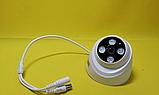 Камера відеоспостереження D204 3MP AHD DOME CAMERA / Нічна зйомка+3MP+HD якість, фото 8