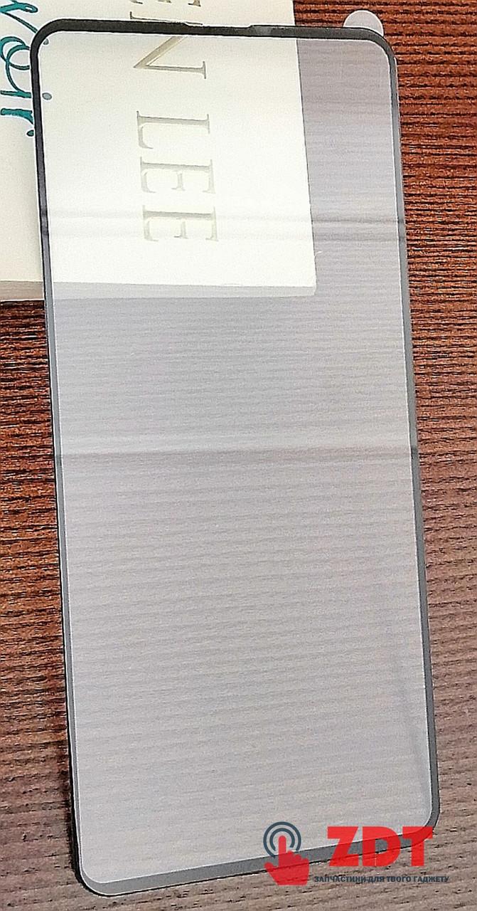 (DL UA) Стекло защитное FULL GLUE 9H для Huawei P40 Lite E- черный