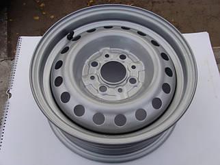 Диск колесный ВАЗ 2101 - 2107 R13 5Jx13H2 серебро (пр-во ДК)