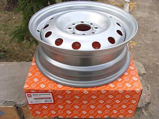 Диск колесный ВАЗ 2110 - 2112 R14 5Jx14H20 серебро (пр-во ДК)