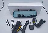 """Дзеркало відеореєстратор K40 (Android) 1/8 (LCD 10"""", GPS), фото 4"""