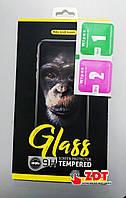 Стекло защитное Full Glue Aspor для Meizu Note 9 в картонной упаковке- черный
