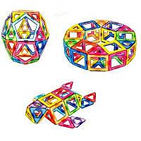 Магнитный конструктор,детский 3Д конструктор,конструктор магнитный в чемодане 48 деталей