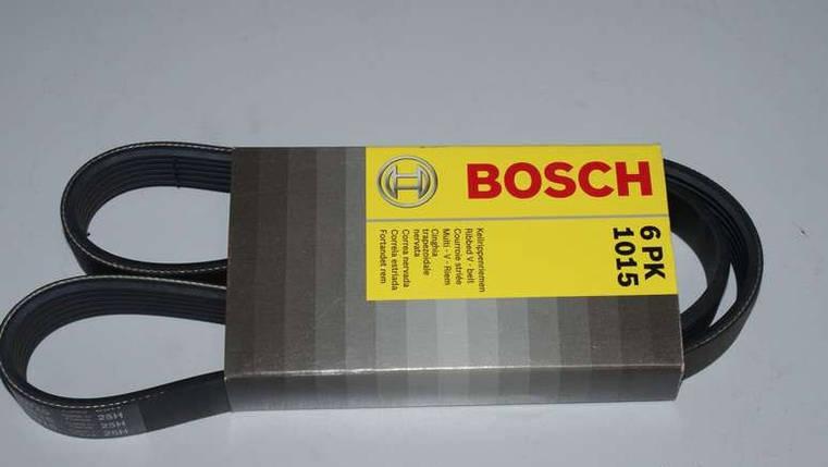 Ремінь 6PK1015 генерат ВАЗ 1118 поликлин. Bosch, фото 2