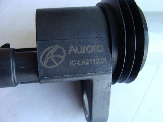 Катушка запалювання ВАЗ 2112 (індивідуальна) (пр-во Aurora Польща), фото 2